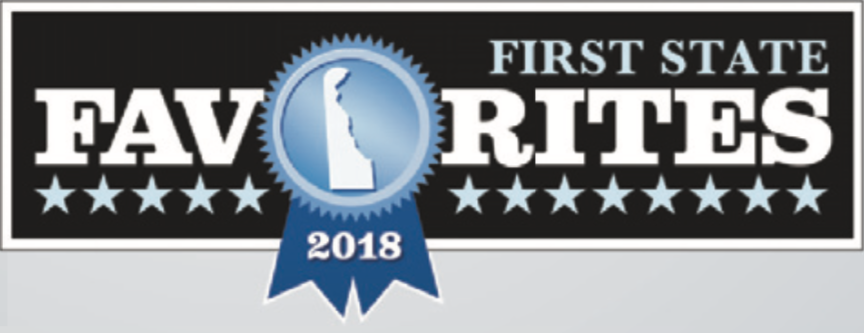 Thank you for voting us a Delaware favorite in 2018, 2019 and 2020